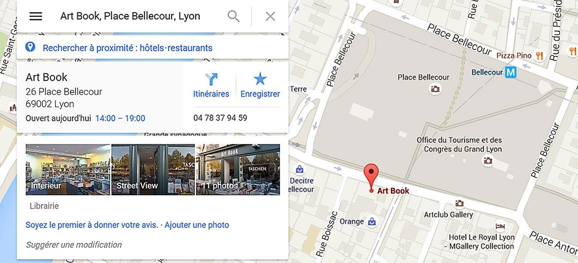Google maps recherche armsphere.fr faq